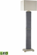 Dimond D3093-LED Elliot Bay Grey Slate LED Exterior Light Floor Lamp