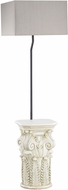 Dimond D3101 Patras Contemporary Antique White Outdoor Floor Lamp Lighting