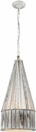 Dimond D3106 Pennant Point  Contemporary Washed Wood Pendant Lamp