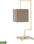 Dimond D3119-LED Ergo Modern Antique Brass LED Side Table Lamp