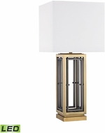 Dimond D3121-LED Hancock Park Antique Brass LED Lighting Table Lamp