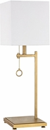 Dimond D3128 Gower Street Contemporary Antique Brass Table Top Lamp