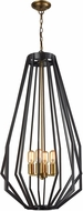 Dimond D3134 Fluxx Contemporary Bronze Mini Chandelier Light