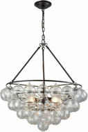 Dimond D3147 Cuvee Contemporary Oil Rubbed Bronze / Clear Hanging Pendant Light