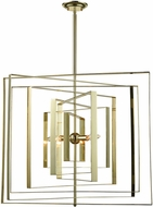 Dimond D3151 Synchrony Modern Gold Plate Hanging Chandelier