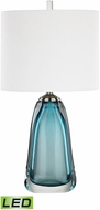 Dimond D3161-LED Ms. Poole Blue LED Lighting Table Lamp