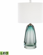 Dimond D3162-LED Ms. Aqua Aqua LED Table Top Lamp