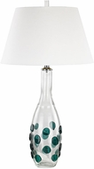 Dimond D3165 Confiserie Clear / Green Lighting Table Lamp