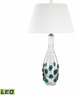 Dimond D3165-LED Confiserie  Clear / Green LED Table Lamp Lighting