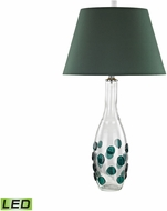 Dimond D3166-LED Confiserie  Clear / Green LED Side Table Lamp