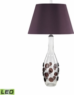 Dimond D3170-LED Confiserie  Clear / Garnet LED Table Lamp