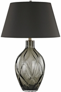 Dimond D3173 Saga Chocolate Smoke Table Lamp