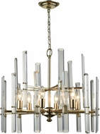 Dimond D3199 Arthur Antique Silver Leaf Chandelier Light