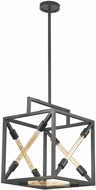 Dimond D3207 Box Tube Modern Oil Rubbed Bronze Foyer Lighting Fixture