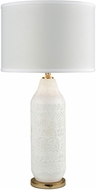 Dimond D3208 Ibiza White Gold Lighting Table Lamp