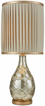 Dimond D3210 León Antique Silver Mercury Gold Table Lamp Lighting