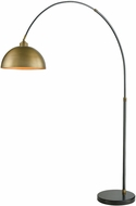 Dimond D3226 Magnus Modern Oil Rubbed Bronze Aged Brass Arc Light Floor Lamp