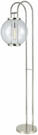 Dimond D3263 Orboculum Contemporary Aged Pewter Floor Lamp Light