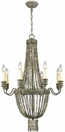 Dimond D3306 C�te des Basques Pebble Grey Grey Shell Chandelier Light