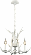 Dimond D3316 Big Sky Modern White Mini Chandelier Lighting