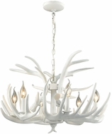Dimond D3317 Big Sky Contemporary White Lighting Chandelier