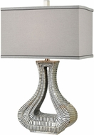 Dimond D3473 Kasmira Grey Reactive Glaze With Dry Antique Table Top Lamp