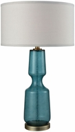 Dimond D3477 Bluestiere Teal Weathered Antique Brass Table Lamp Lighting