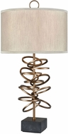 Dimond D3487 Suspense Gold Plated Side Table Lamp