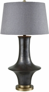 Dimond D3496 Sakurajima Matte Pewter With Gold Table Lamp