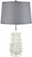Dimond D3500 Barb Matte White Lighting Table Lamp