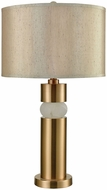 Dimond D3522 Splice Cafe Bronze White Alabaster Entryway Light Fixture
