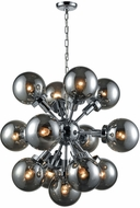 Dimond D3541 Ballistic Modern Chrome Chandelier Light