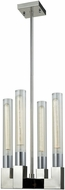 Dimond D3542 Light Thrust Contemporary Polished Nickel Mini Chandelier Lighting
