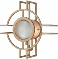 Dimond D3555 Lens Flair Matt Gold Sconce Lighting