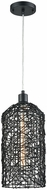 Dimond D3561 Haute Cross Contemporary Black Mini Drop Ceiling Lighting