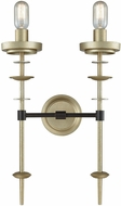 Dimond D3570 Orion Modern Oil Rubbed Bronze Antique Silver Lamp Sconce