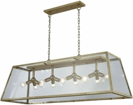Dimond D3600 Jackson Contemporary Antique Silver Island Lighting