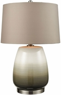 Dimond D3622 Salton City Grey Ombre With Nickel Table Lamp Lighting