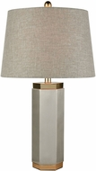Dimond D3630 Gaius Pewter And Aged Gold Lighting Table Lamp