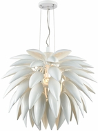 Dimond D3702 Pistil Modern White Pendant Hanging Light