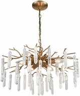 Dimond D3780 Kvist Coffee Bronze Mini Chandelier Lamp