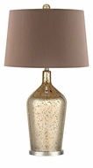 Dimond HGTV355 Pershore Antique Gold Mercury With Polished Nickel Finish 27 Tall Table Lamp Lighting