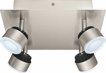 EGLO 200031A Armento 1 Contemporary Matte Nickel LED Ceiling Spot Light Indoor