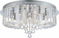 EGLO 200389A Ornella Chrome Halogen Ceiling Light