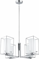 EGLO 201509A Loncino 1 Modern Chrome Chandelier Lighting