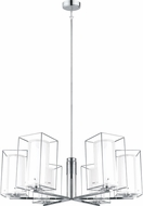 EGLO 201511A Loncino 1 Contemporary Chrome Lighting Chandelier