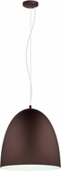 EGLO 201547A Sarabia Contemporary Chocolate Brown 19  Pendant Light Fixture