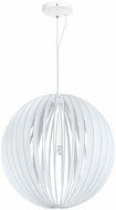 EGLO 201601A Cossano Modern White Pendant Lighting Fixture