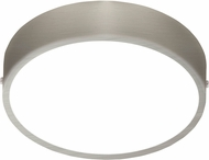 EGLO 201659A Fueva 1 Contemporary Matte Nickel LED Flush Mount Ceiling Light Fixture