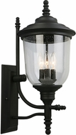 EGLO 202801A Pinedale Matte Black Outdoor Lighting Sconce